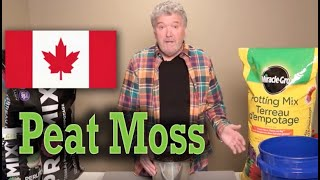 What's in peat moss?