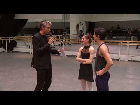 Marianela Nuñez and Federico Bonelli on Manon - World Ballet Day 2014 (The Royal Ballet)