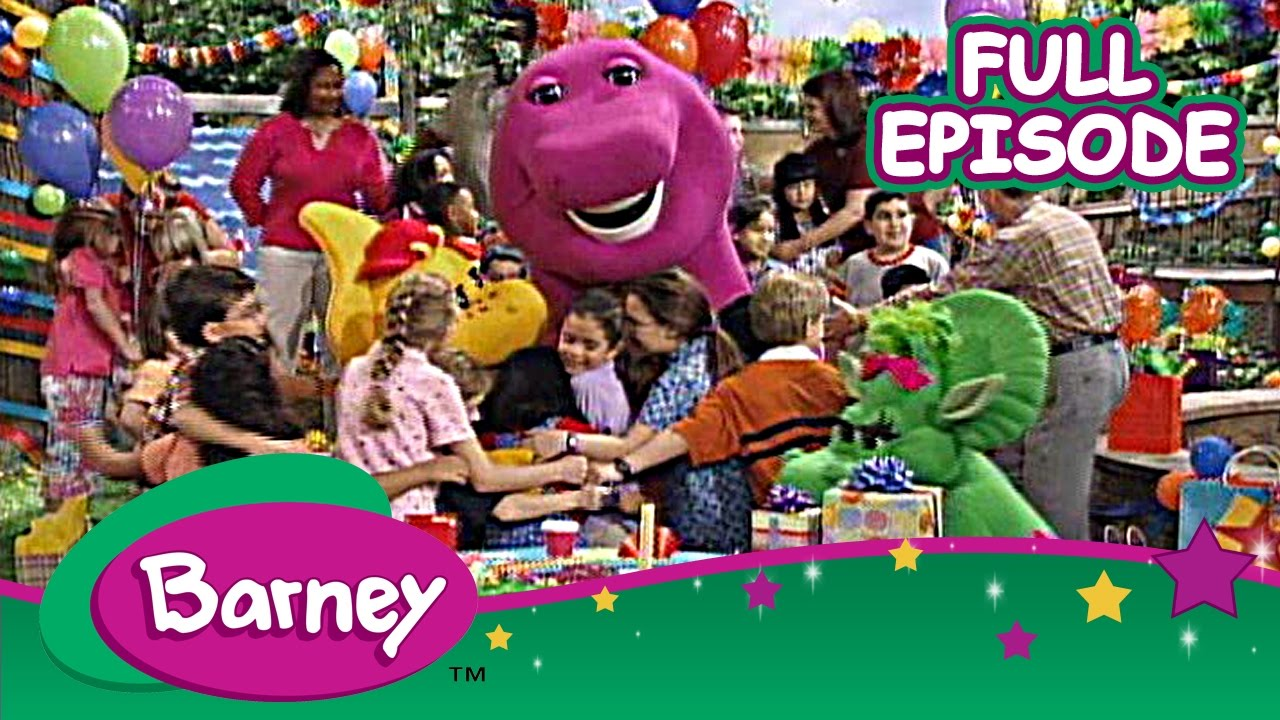Download Barney - Bonjour, Barney in France and Sweet Earth, The Rainforest (Full Episodes)