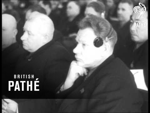 Twentieth Congress Of The Soviet Union Communist Party (1956)