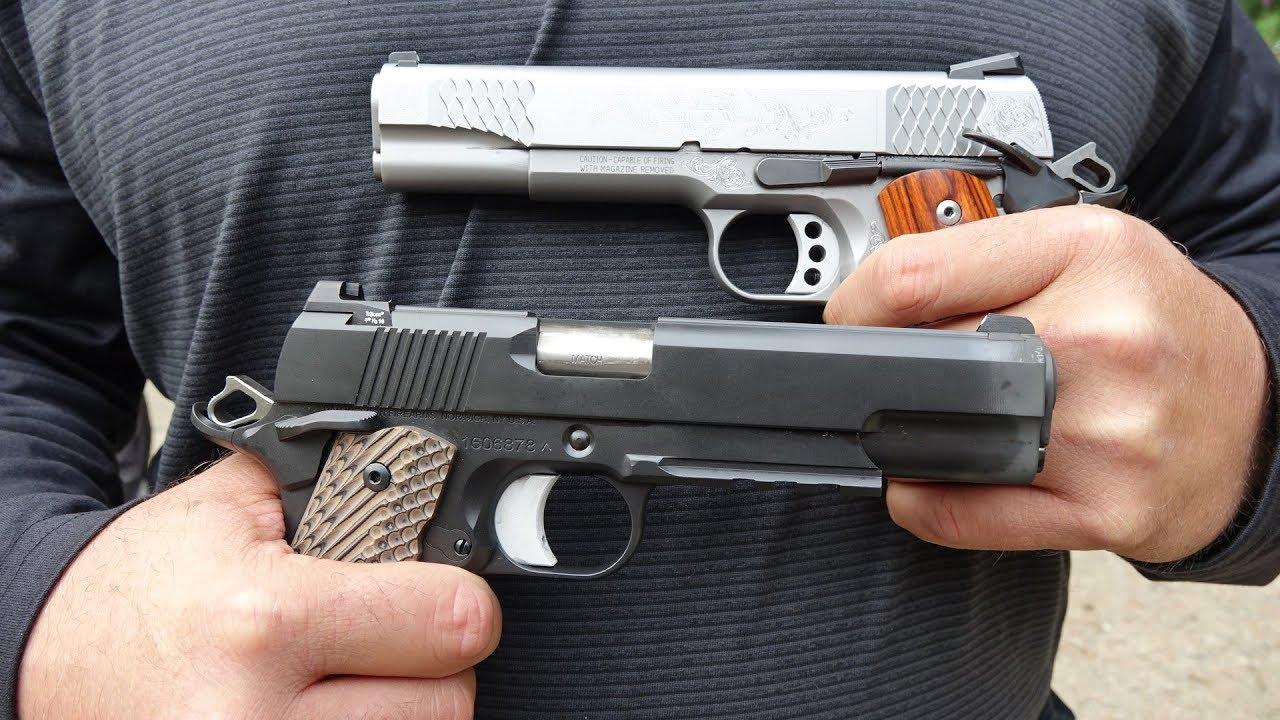 Dan Wesson 1911 vs Smith & Wesson 1911