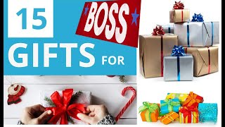 15 Awesome Gifts to Buy for Your Boss That Won't Break the Bank in 2019 - january