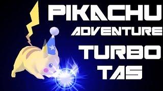 Pikachu Adventure - Turbo TAS (Very Hard, No Damage) - SSBM