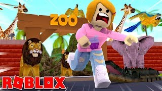Roblox | Escape The Crazy Zoo Obby!