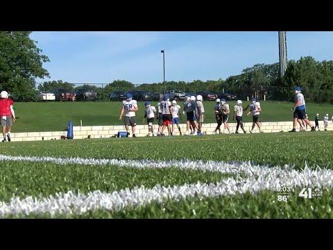 Rockhurst High School preparing for football season during pandemic