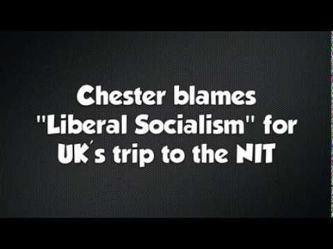 Chester blames