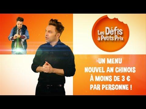 Menu Nouvel an chinois à moins de 3 € - Défis à Petits Prix