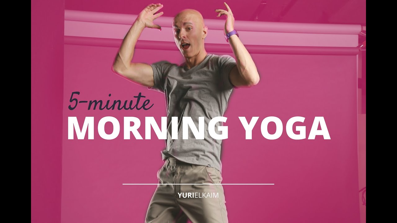 The 5-Minute Morning Yoga Routine You Desperately Need
