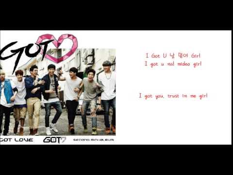 GOT7- U Got Me [Eng Sub + Romanization + Hangul]