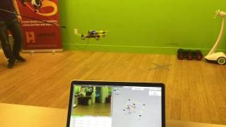 Augmented Pixels - Drone Indoor Autonomous Flight