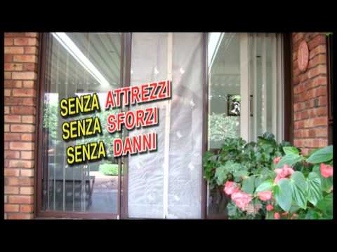 Tenda Zanzariera Con Magneti Youtube