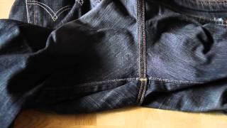 ユニクロのジーンズは破れやすいので自分で手縫いでリペアしました。 エ...