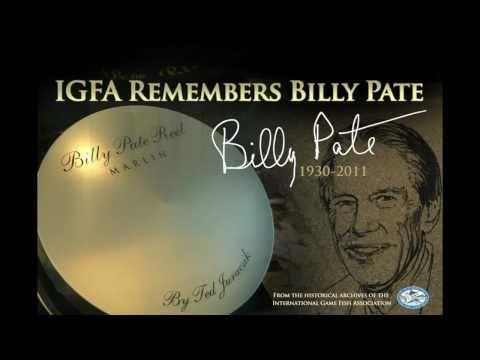 IGFA Remembers Billy Pate 1930-2011