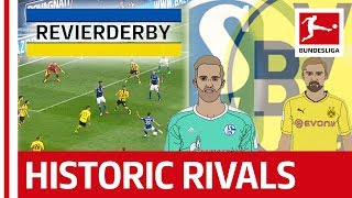 Schalke 04 vs. Borussia Dortmund - The Biggest Derby in German Football - Powered by Tifo Football