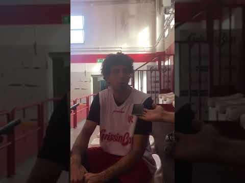 Amedeo Della Valle dopo il taglio dall'Italbasket (31/08/17)