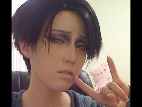 Attack On Titan: Levi Cosplay Makeup Tutorial [Shikarius Cosplays]