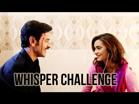 The Whisper Challenge with Shivani Surve & Shashank Vyas