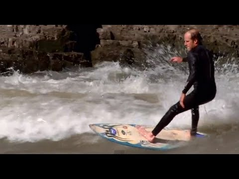 River Surfing in Wyoming - The Surf Channel