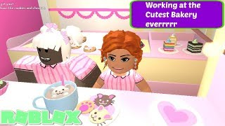 Working at the Cutest Bakery eveeerrrrr!! (Roblox Roleplay)