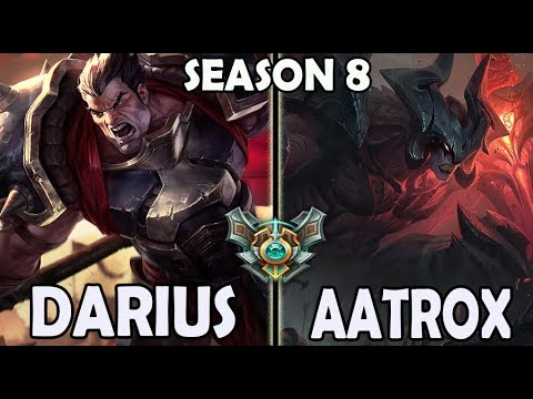 Best Darius Korea Vs Aatrox TOP Ranked Master