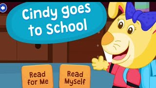Cindy goes to School  | Bedtime Stories for kids in English | infants stories