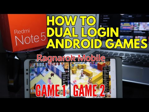 How To Dual Login In Games (Ragnarok Mobile) Redmi Note 5 AI