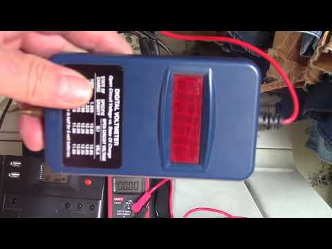 Harbor Freight 100W solar system Charge controller Warning