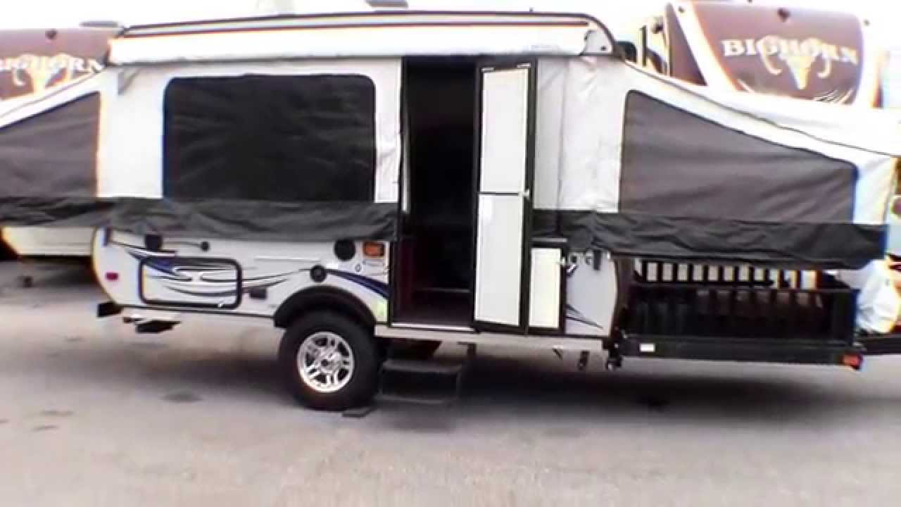 & 2012 Viking V3 Toy Hauler Tent Camper!!! - YouTube