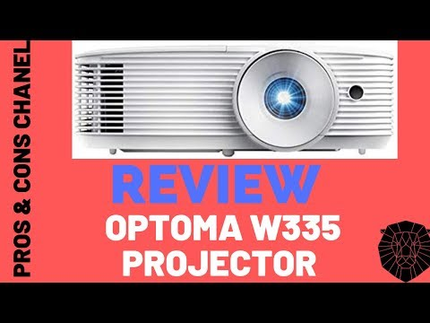 Optoma W335 WXGA DLP Professional Projector  Review
