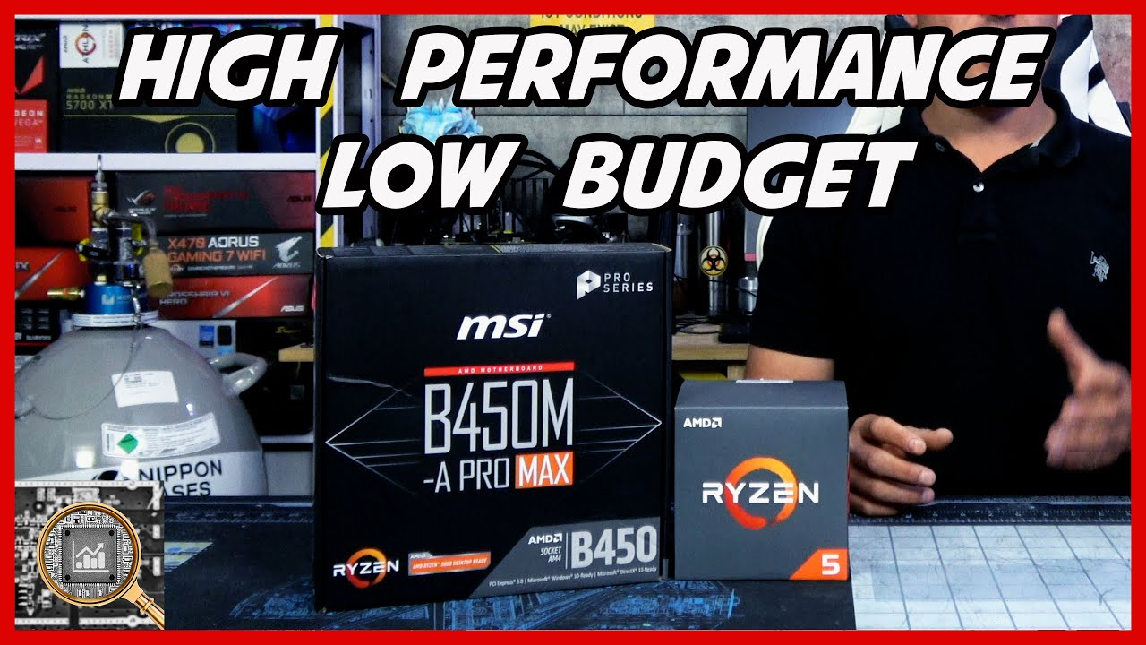 Ryzen 1600 AF + MSI B450M-A Pro Overview and OC Guide