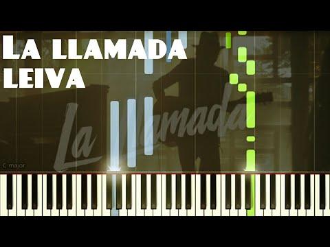Leiva - La llamada   Piano Tutorial