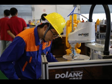 Dolang and 2017 National Industrial Robot Technology Application Skills Competition