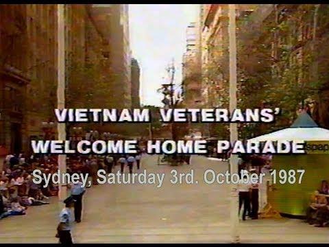 VIETNAM VETERANS' PARADE, SYDNEY 1987