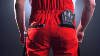 видео Летняя спецодежда | Спецодежда Костюм Профессионал синий с красным кантом с п/к тк. Crown | Интернет Магазин