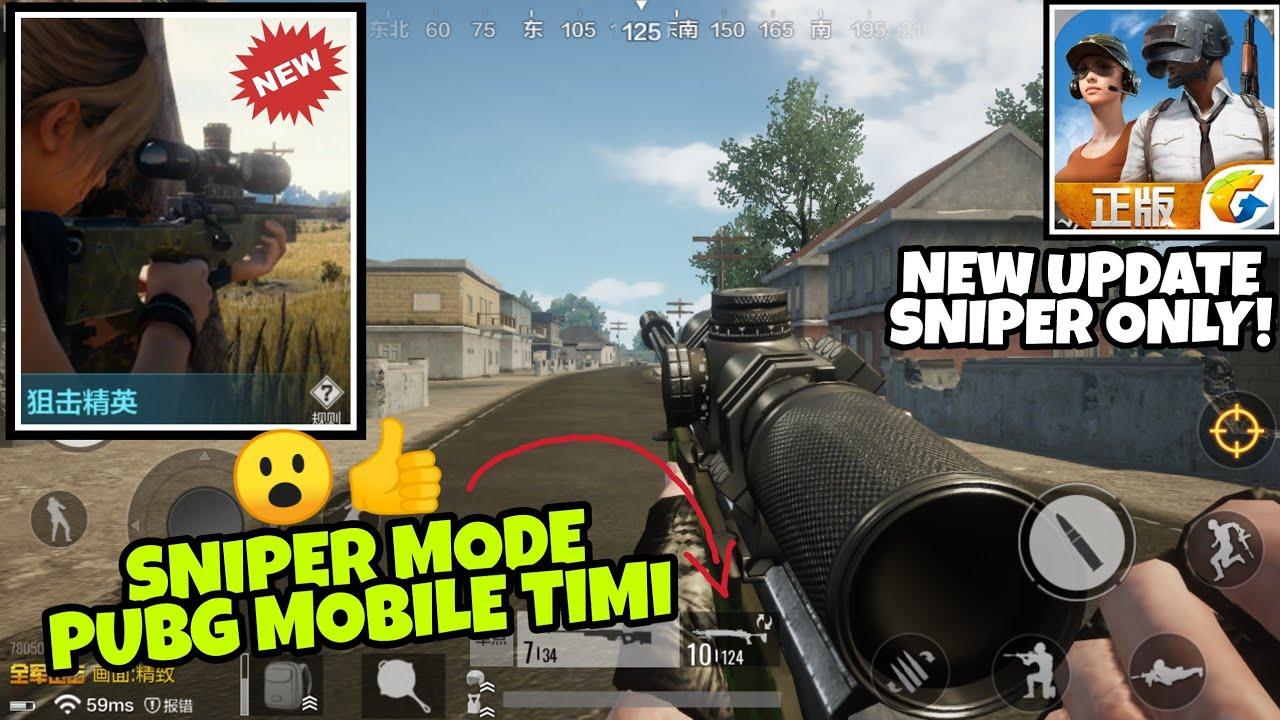 Pubg Mobile Timi Youtube: Coba Sniper Mode PUBG Mobile Timi Studio