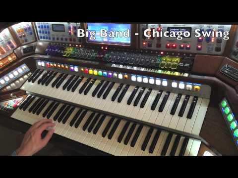 """Big Band Rhythm Styles - """"Chicago Swing"""" - Lowrey organ"""
