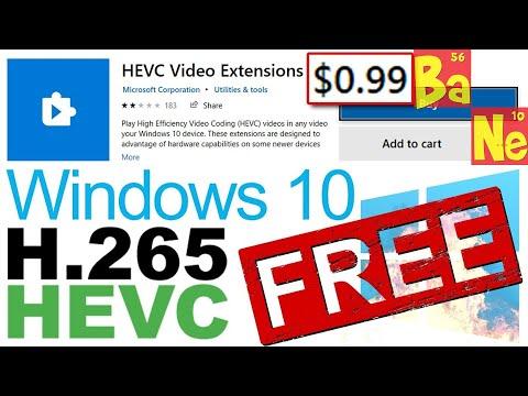 Hack Windows 10 & Download HEVC Codec FREE TechTip 👨💻