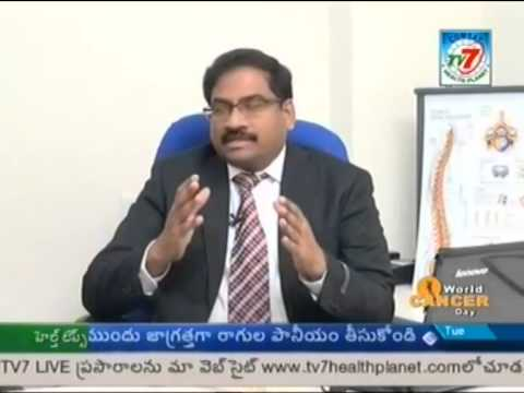Spine surgeon Dr. Naresh Babu on Key Hole Surgery with TV7 Rewind Your Joints