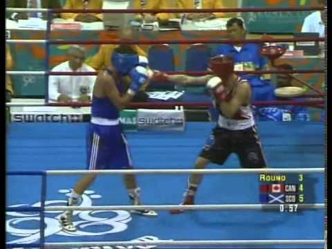 Amazing Alex Arthur v Marty O'Donnell Commonwealth Games Featherweight Final 1998