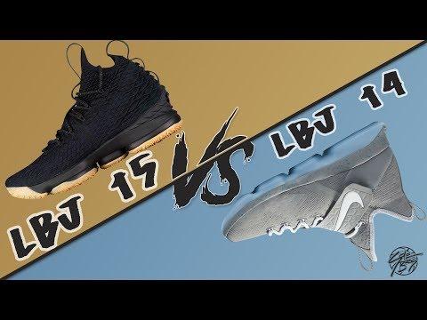 Nike Lebron 15 vs Lebron 14!