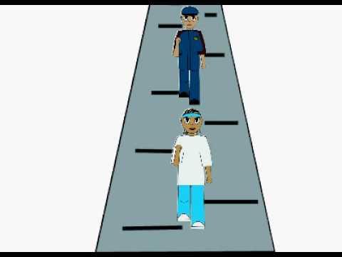 Chamillionaire Hip Hop Police Animation