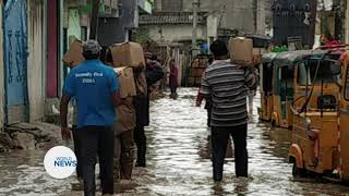 Khuddamul Ahmadiyya India Continue to Provide Aid During Floods