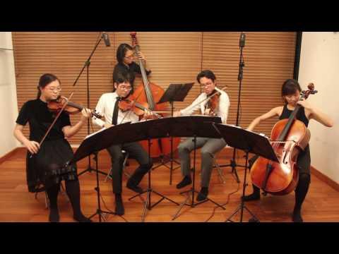 El Tango de Roxanne - Moulin Rouge - Arpeggione String Quartet (Singapore)