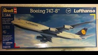 boeing 747 8 review 1 144 by revell