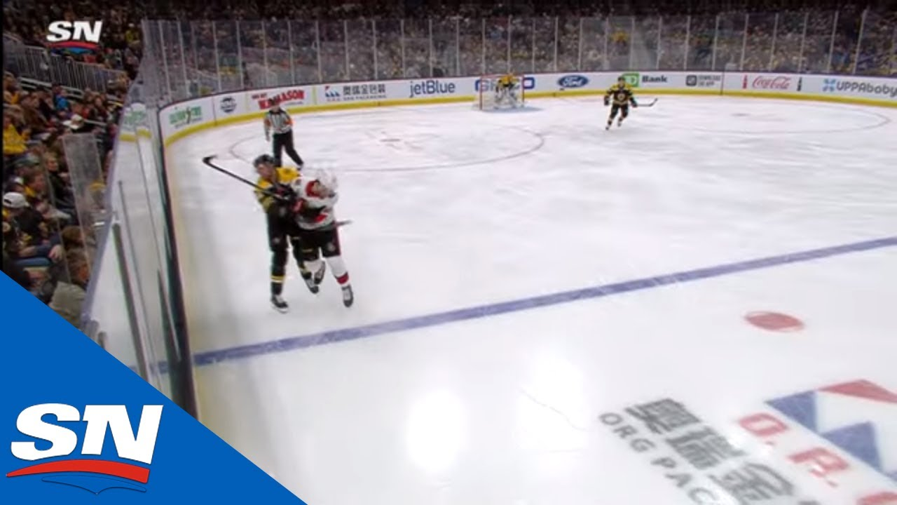 Scott Sabourin Knocked Out Cold After Scary Head-To-Head Collision With David Backes