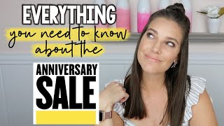 EVERYTHING YOU NEED TO KNOW ABOUT THE NORDSTROM ANNIVERSARY SALE | #NSALE PREP | Sarah Brithinee