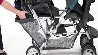 Double Strollers Reviews - Graco DuoGlider Classic Connect Stroller Dragonfly