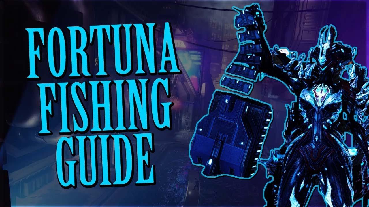 Warframe Fortuna Fishing Guide YouTube