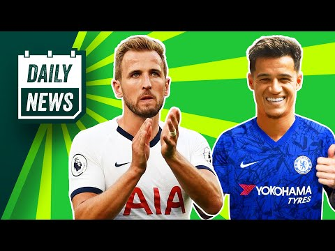 Why Kane Will STAY At Spurs + Chelsea's Coutinho Deal! ► Daily News