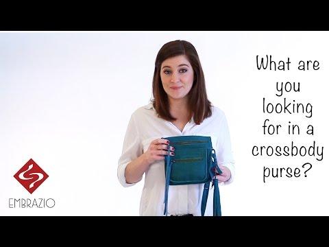 video:Embrazio's Handmade Leather STRETTA Crossbody & Hip Bag